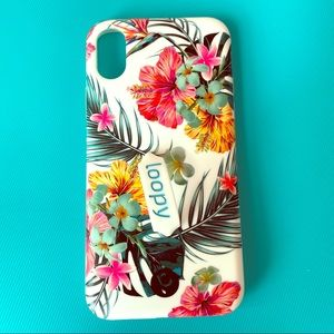 Loopy Tropical Hibiscus iPhone X / Xs Case